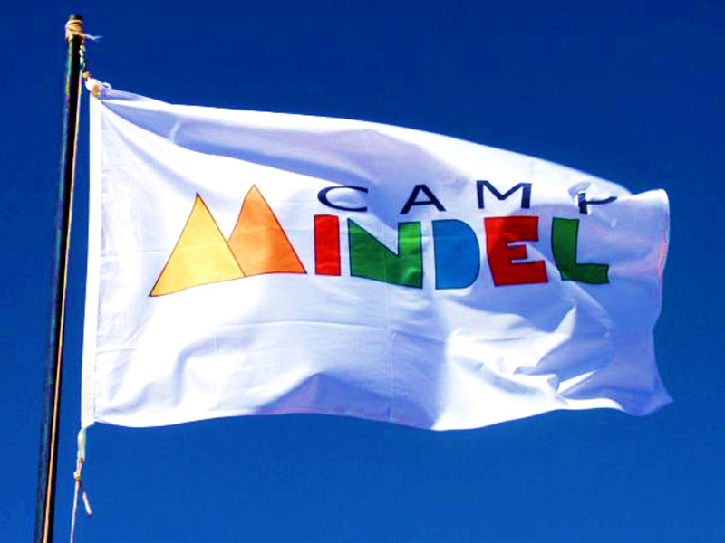 Camp Mindel flag